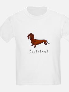 Dachshund Illustration T-Shirt