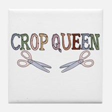 Crop Queen Tile Coaster