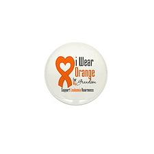 Leukemia Grandson Mini Button (100 pack)