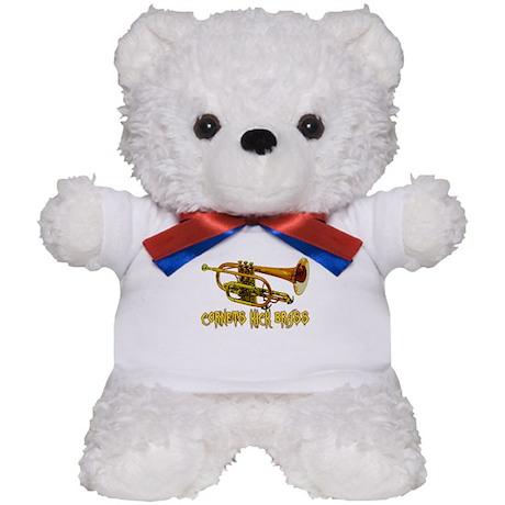 Cornets Kick Brass Teddy Bear