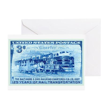 stamp19 Greeting Cards