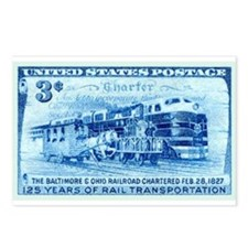 Cute Model trains Postcards (Package of 8)