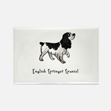 English Springer Spaniel Illustrated Rectangle Mag