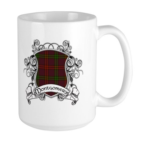 Montgomery Tartan Shield Large Mug