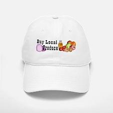 buy local produce Baseball Baseball Cap