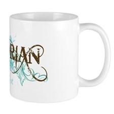 Cool Blue Historian Small Mug