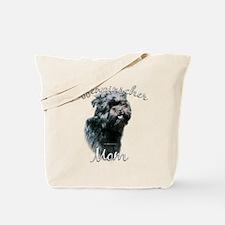 Affenpinscher Mom 2 Tote Bag