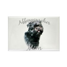 Affenpinscher Mom 2 Rectangle Magnet