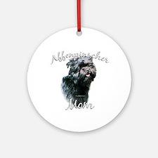 Affenpinscher Mom 2 Ornament (Round)