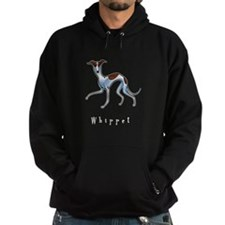 Whippet Illustration Hoodie