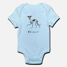 Whippet Illustration Infant Bodysuit