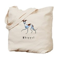 Whippet Illustration Tote Bag