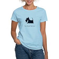 Scottish Terrier Illustration T-Shirt