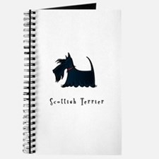 Scottish Terrier Illustration Journal