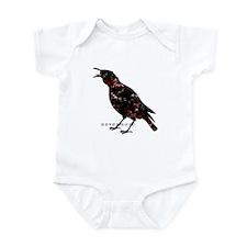 Cute Murder of crow Infant Bodysuit