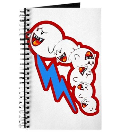 Flying Ghosts Notepad