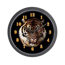Go Wild Tiger Wall Clock