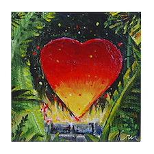 Survivor of Love Tile Coaster