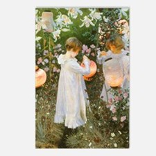 Carnation, Lily, Lily, Rose by Sargent Postcards (