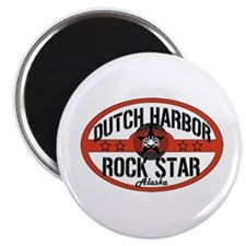 Dutch Harbor Rock Star Magnet
