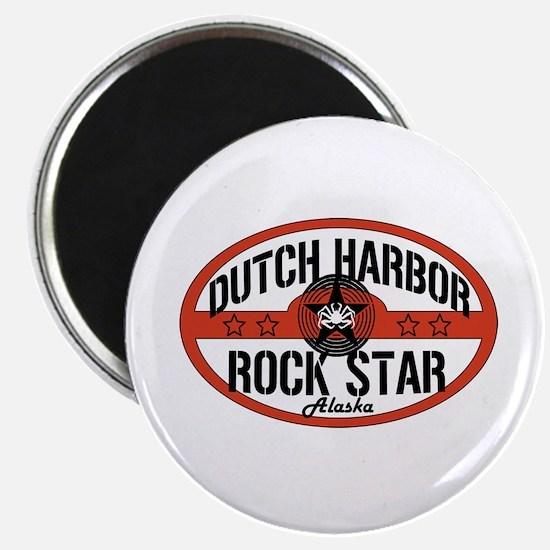 Dutch Harbor Rock Star Magnet