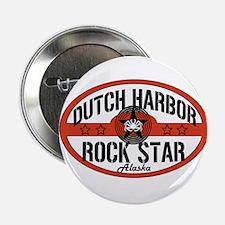 "Dutch Harbor Rock Star 2.25"" Button"