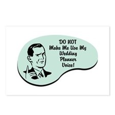 Wedding Planner Voice Postcards (Package of 8)