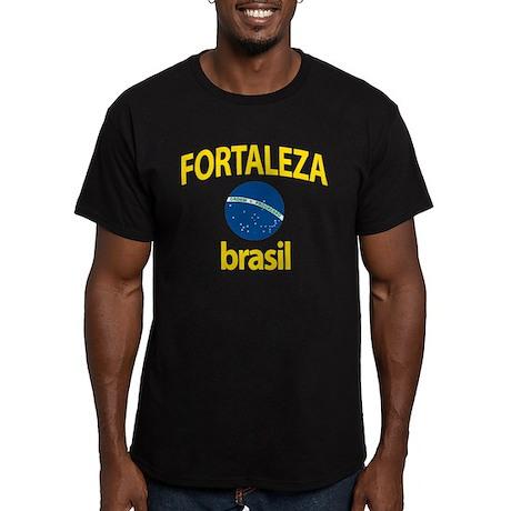 Fortaleza Men's Fitted T-Shirt (dark)