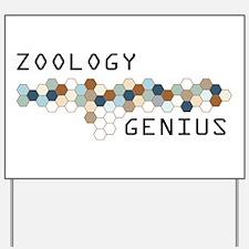 Zoology Genius Yard Sign