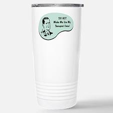 Therapist Voice Thermos Mug