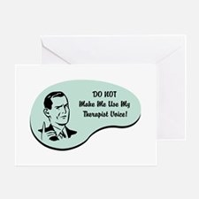 Therapist Voice Greeting Card