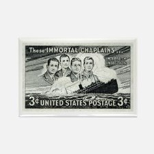 Unique Postage stamps Rectangle Magnet (10 pack)