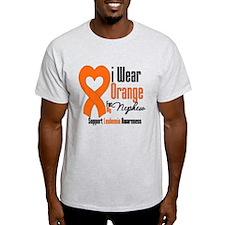 Leukemia Grandfather T-Shirt