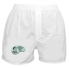 Table Tennis Player Voice Boxer Shorts