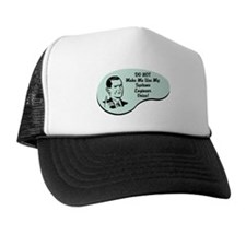 Systems Engineer Voice Trucker Hat