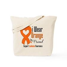 Leukemia I Wear Friend Tote Bag
