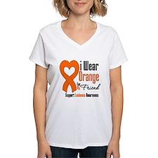 Leukemia I Wear Friend Shirt