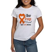 Leukemia I Wear Friend Tee