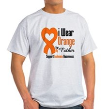 Leukemia Father T-Shirt
