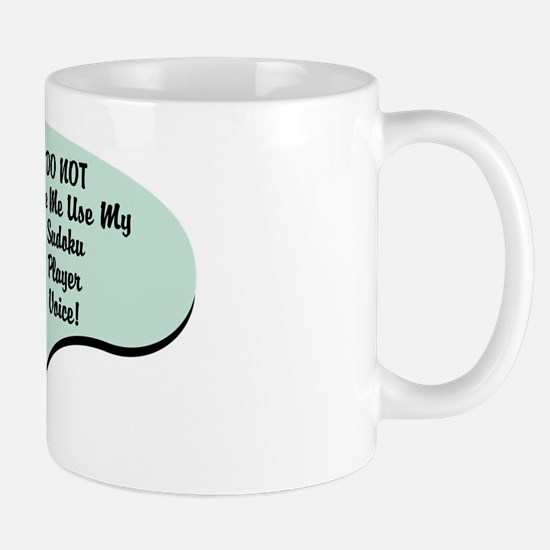 Sudoku Player Voice Mug