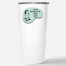 Sudoku Player Voice Stainless Steel Travel Mug