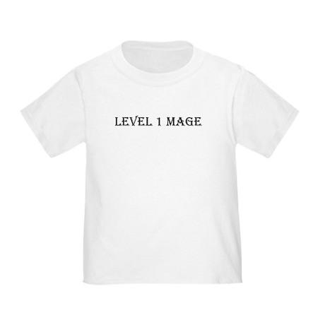 Level 1 Mage Toddler T-Shirt