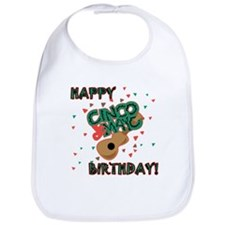 Happy Cinco de Mayo Birthday Bib