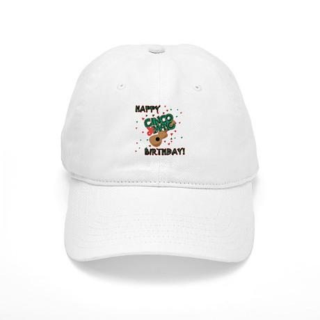 Happy Cinco de Mayo Birthday Cap