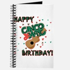 Happy Cinco de Mayo Birthday Journal