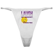 Laugh at Cancer Classic Thong