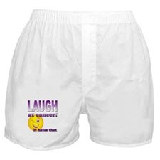 Laugh at Cancer Boxer Shorts