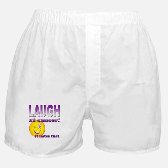 Laugh at Cancer Boxer Shorts