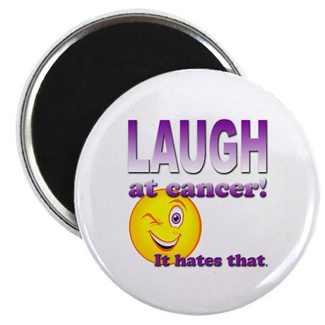 "Laugh at Cancer 2.25"" Magnet (100 pack)"