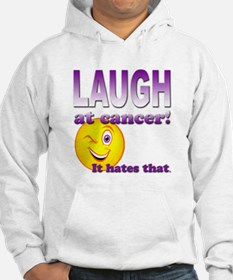 Laugh at Cancer Hoodie